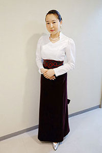 レセプタント衣装